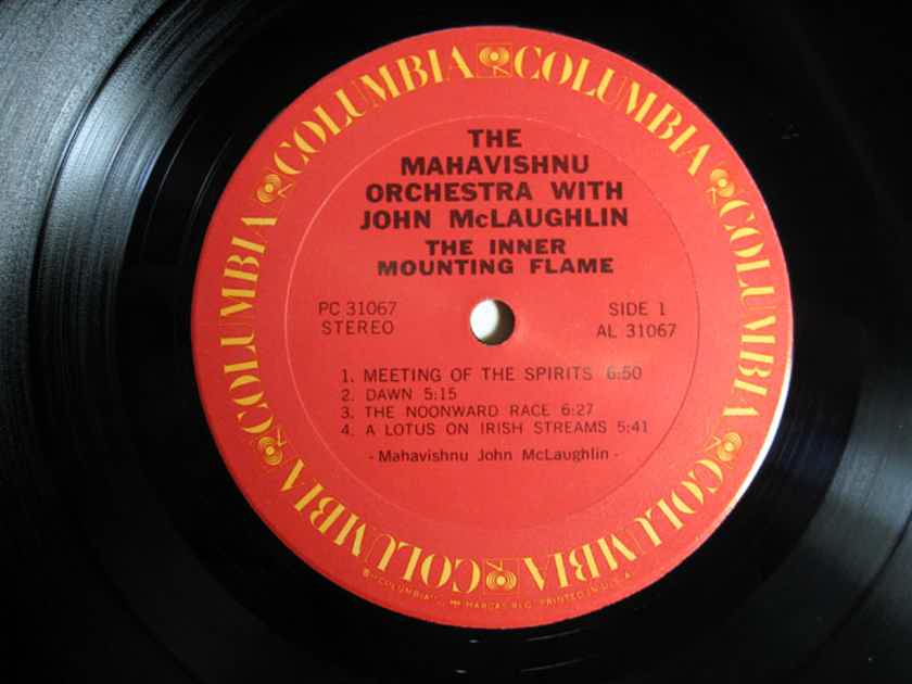 Mahavishnu Orchestra - The Inner Mounting Flame - Early Reissue Unknown Date Columbia PC 31067