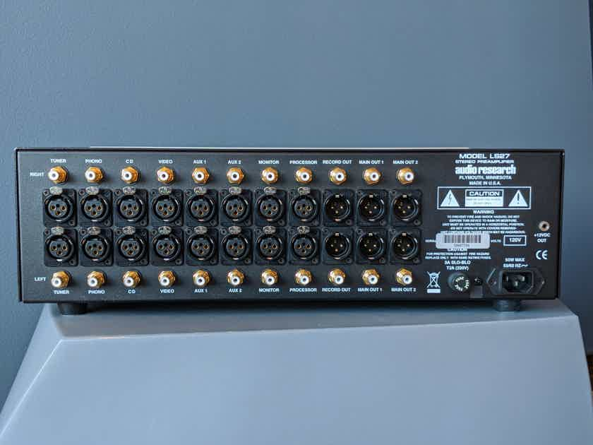 Audio Research LS27 Linestage Preamplifier in Silver Finish