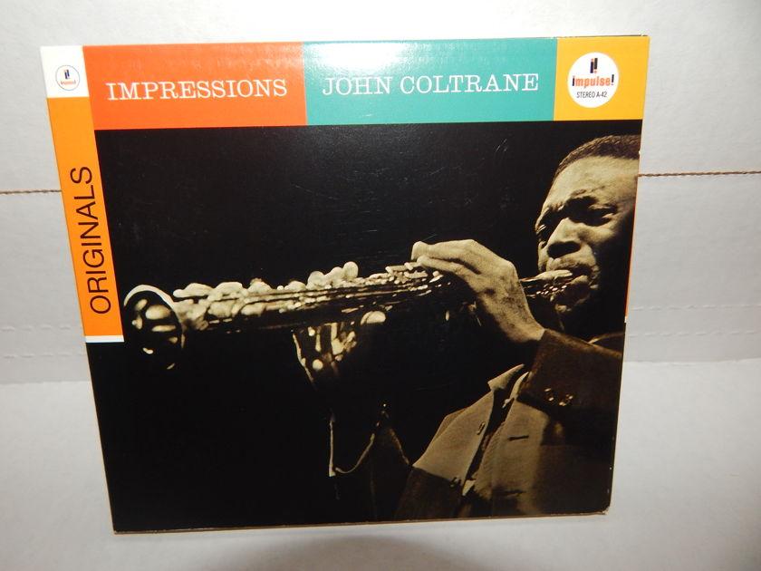 JOHN COLTRANE IIMPRESSIONS Originals  - Eric Dolphy McCoy Tyner Elvin Jones Garrison 2008 Impulse Tri-fold & Booklet NM CD