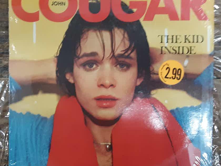 John Cougar The Kid Inside 1982 SEALED Vinyl LP UK JEM Import  Mainman Records MML 601