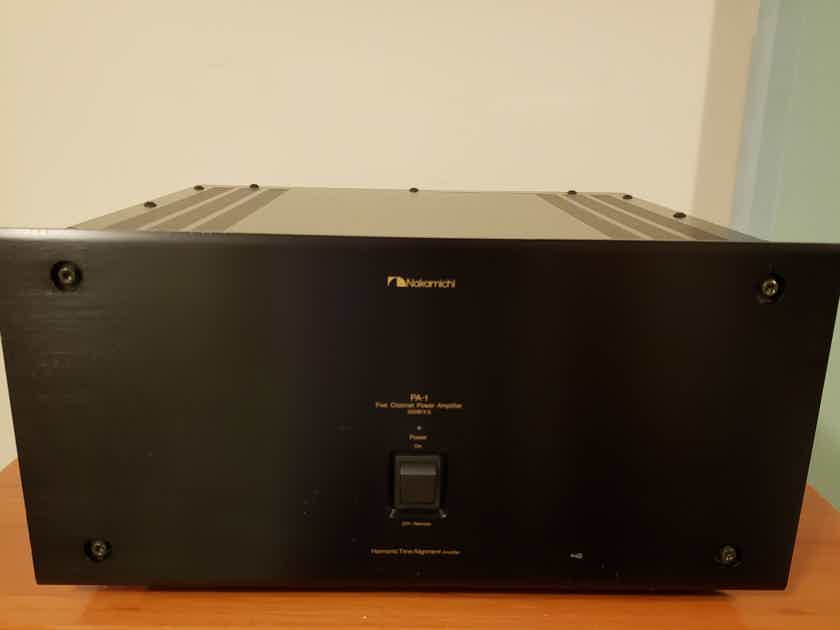 Nakamichi PA-1 Power Amplifier. Price Drop.