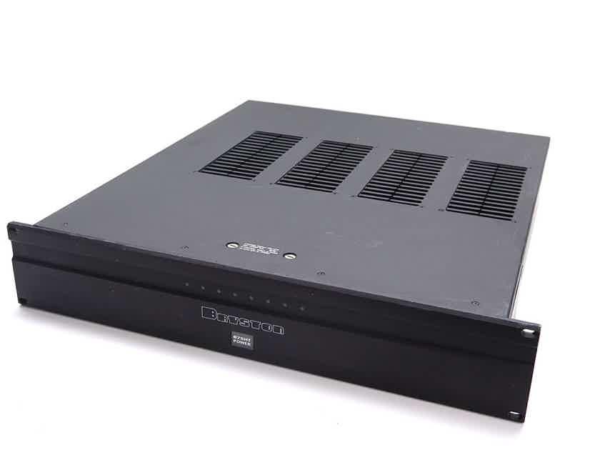 Bryston 875HT power amplifier 8-channel 75W stereo, 4-channel 250W bridged