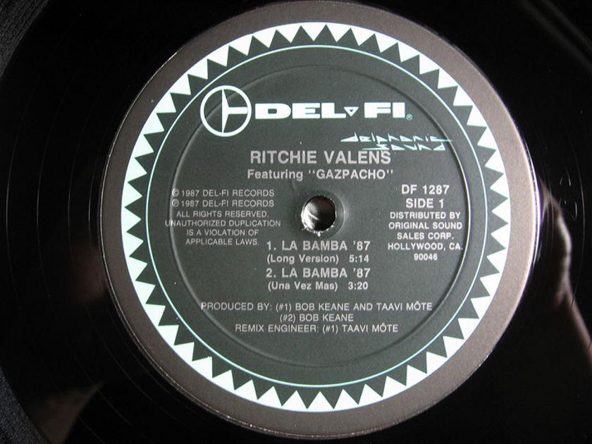 Ritchie Valens - La Bamba '87  - 1987 Del-Fi Records DF-1287