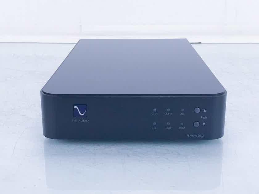 PS Audio NuWave DSD DAC; D/A Converter (2/2) (16469)
