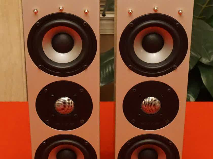 AAD Loudspeakers, Model E44, Use As Mains, Satellites, Dorm or Home Theater +Center Channel Available