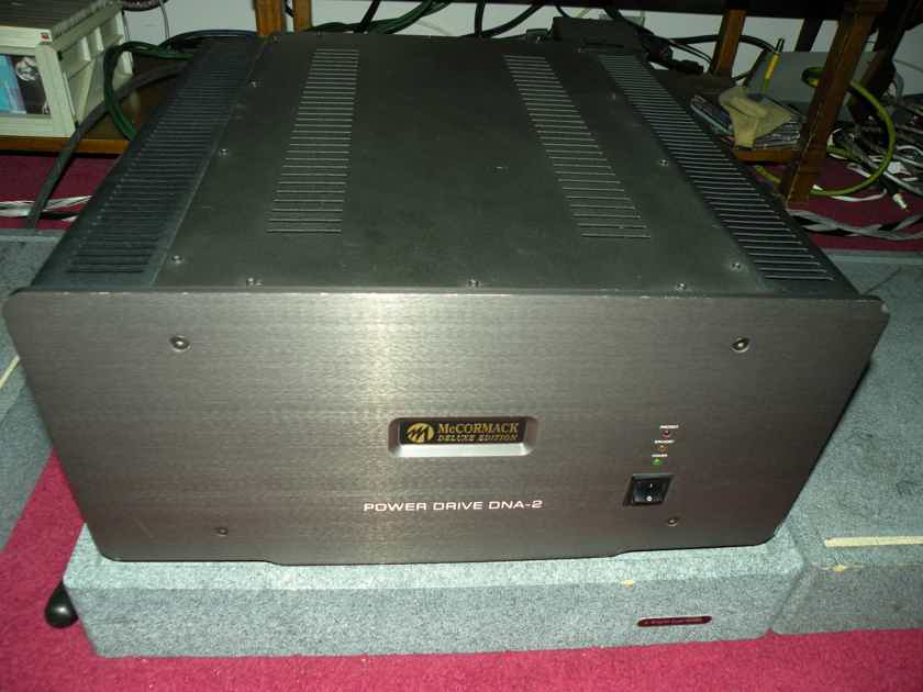 McCormack DNA-2 Deluxe Edition 300wpc powerhouse