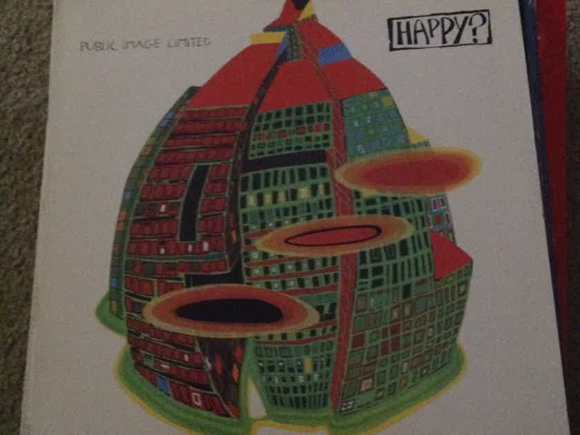 Public Image Limited - Happy? Virgin Records Vinyl LP  NM