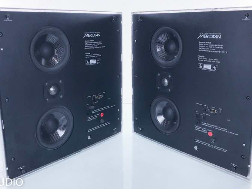 Meridian DSP420 In-Wall Surround Speakers Pair; AS-IS (Un-tested; No grills) (15480)