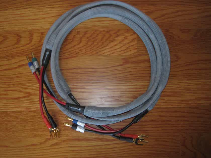 Maker Audio Reference, Speaker Cables, 1.5M, Spade to Banana