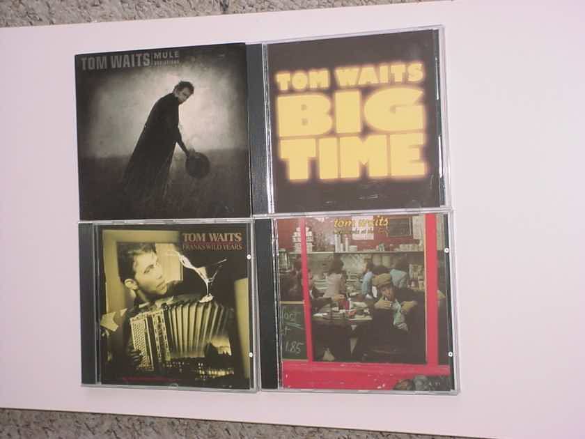 Tom Waits cd lot of 4 cd's Mule variations Big time Nighthawks Franks wild years