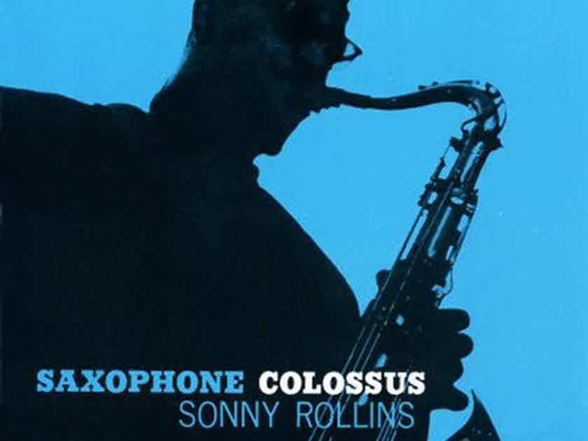 Sonny Rollins  Saxophone Colossus Hybrid Mono SACD