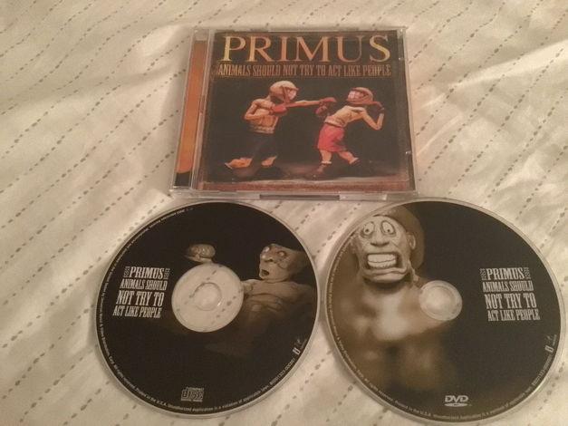 Primus CD/DVD Combo