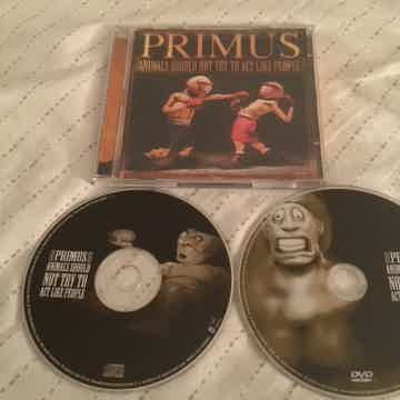 Primus CD/DVD Combo Animals Should Not Try To Act Like ...