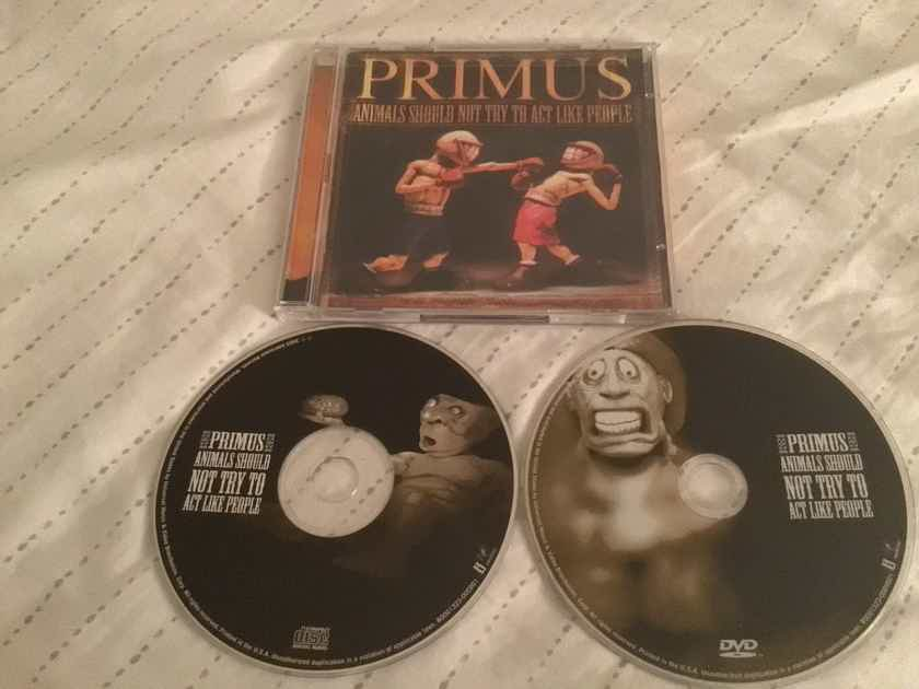 Primus CD/DVD Combo Animals Should Not Try To Act Like People