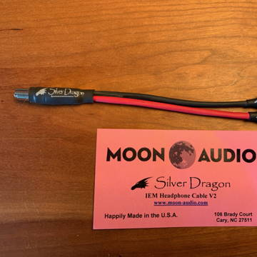Moon Audio Silver Dragon