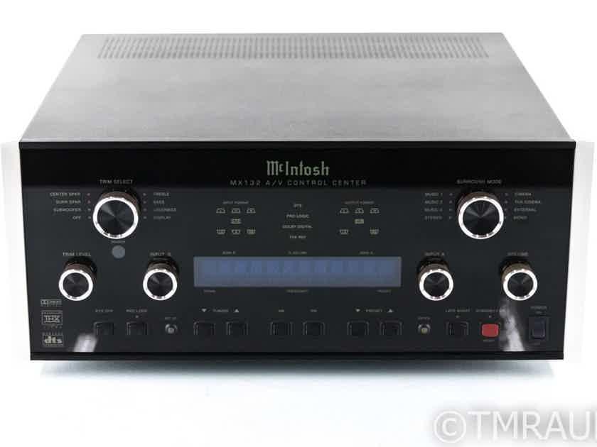 McIntosh MX132 5.1 Channel Home Theater Processor; MX-132; Remote (22429)