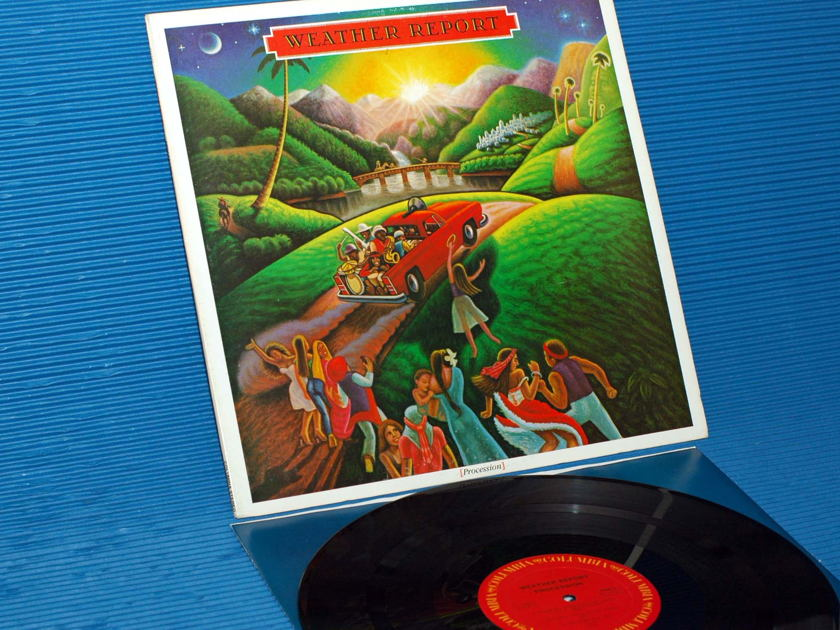 """WEATHER REPORT  - """"Procession"""" - Columbia 1983"""