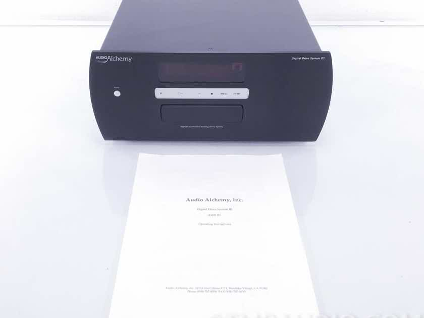 Audio Alchemy   DDS III Digital Drive System CD Transport (No Analog Outputs) (10543)