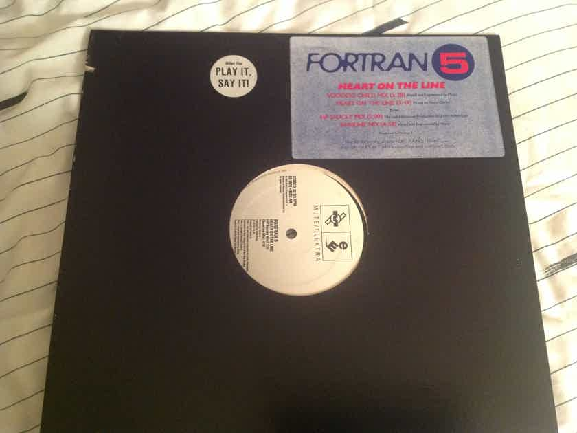 Fortran 5 Heart On The Line Mute/Elektra Records Promo 12 Inch EP
