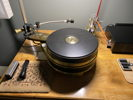 Teres Audio - Certus Direct Drive DD440 - 130lbs of solid brass and paper phenolic.