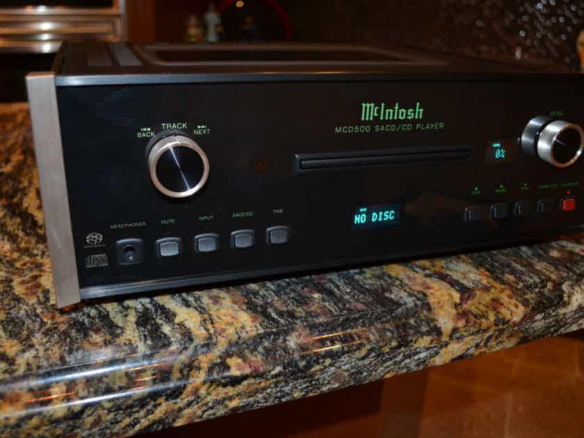 McIntosh MCD-500 CD / SACD Player