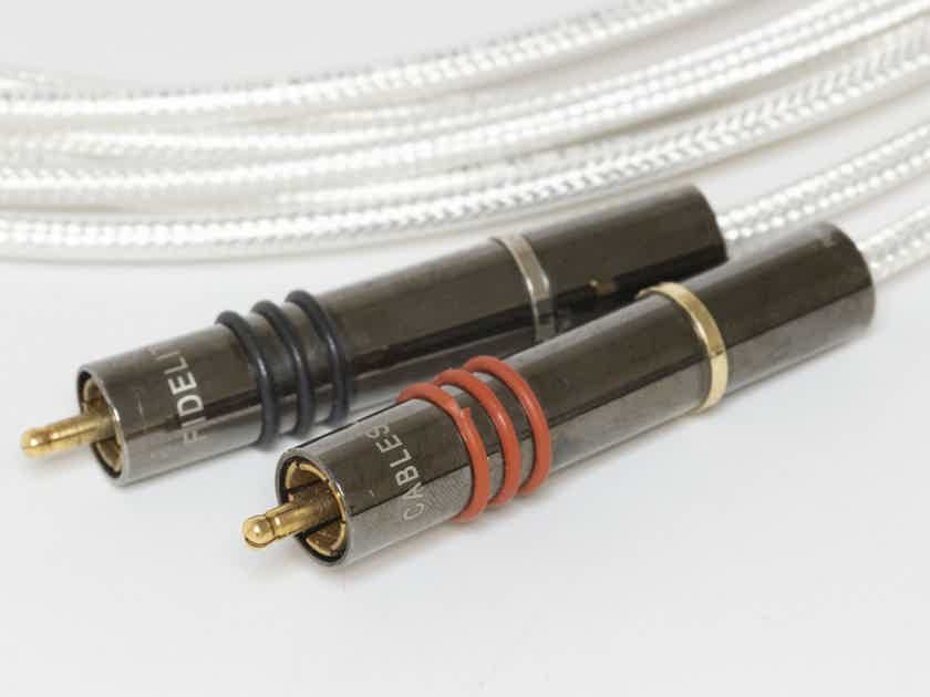 High Fidelity Cables CT-1 Enhanced RCA, 2.5m, 60% off