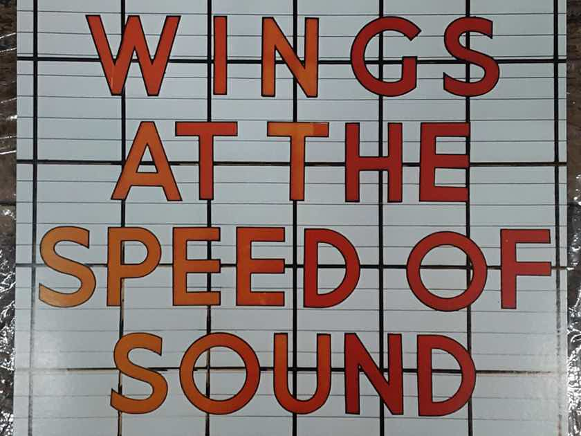 Wings - At The Speed Of Sound 1976 NM- Vinyl LP  Capitol Records SW-11525