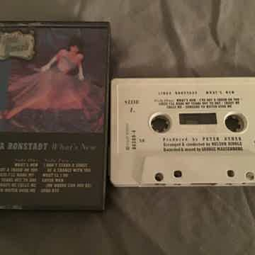 Linda Ronstadt Pre Recorded Cassette  What's New