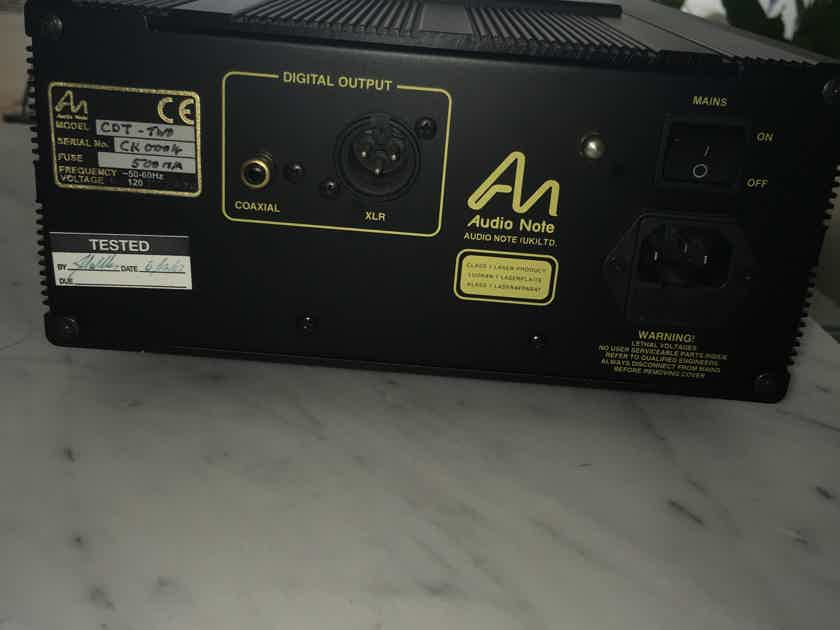 Audio Note (UK) CDT-2 in mint condition