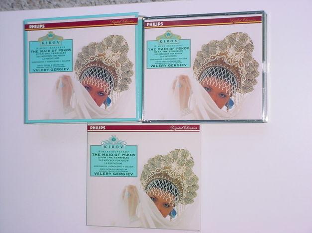PHILIPS Kirov Rimsky Korsakov double cd box set