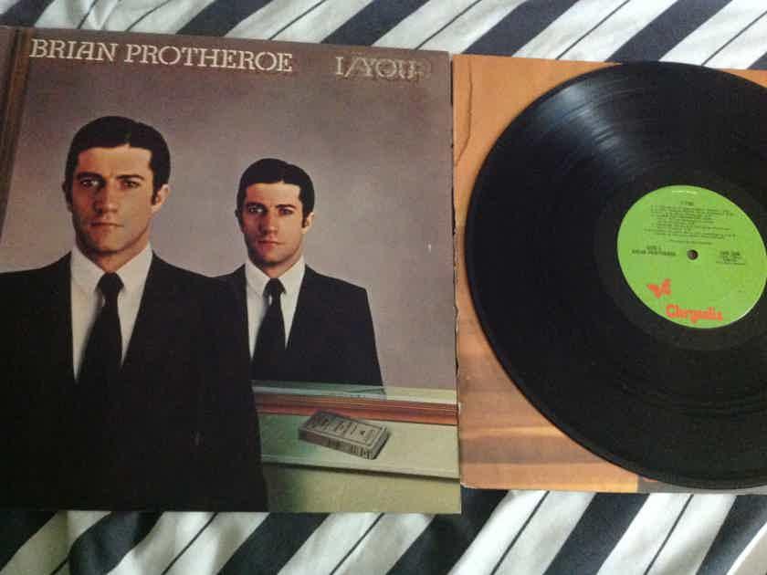 Brian Protheroe - I/You Chrysalis Records Vinyl LP NM