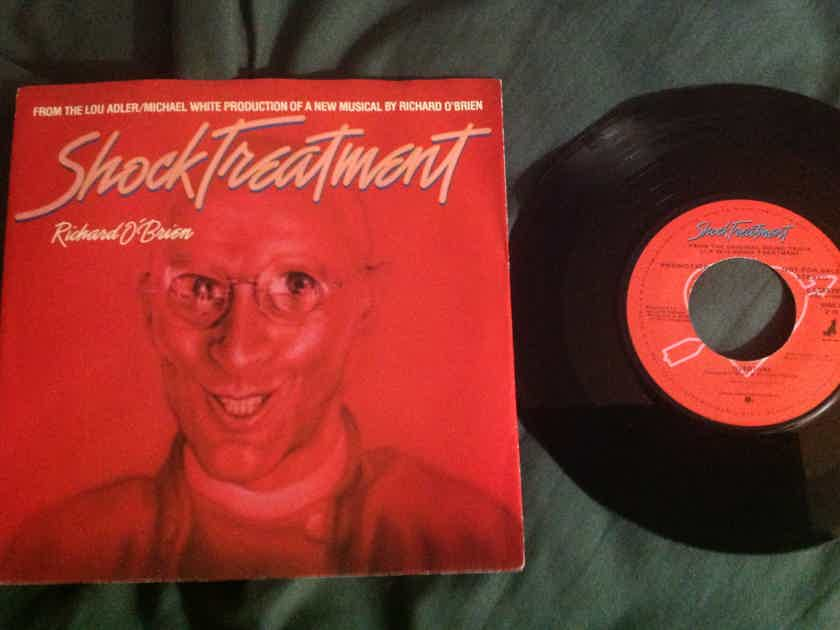 Richard O'Brien - Shock Treatment/Overture Warner Brothers Records Promo 45 Single With Sleeve NM
