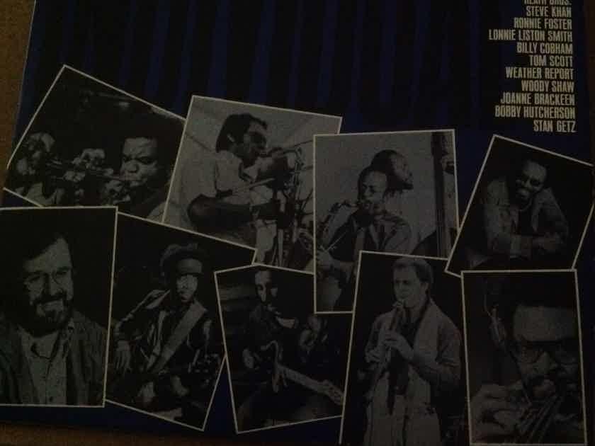 Various - Individuals 2 LP Jazz Sampler Stanley Clarke Weather Report Billy Cobham
