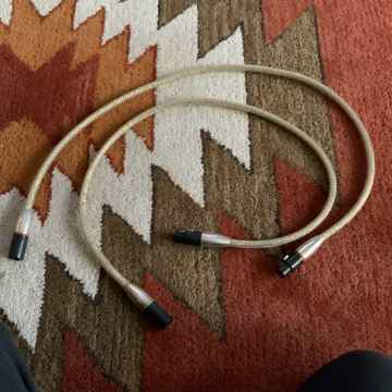 Silver RCA Interconnect Cable 1M
