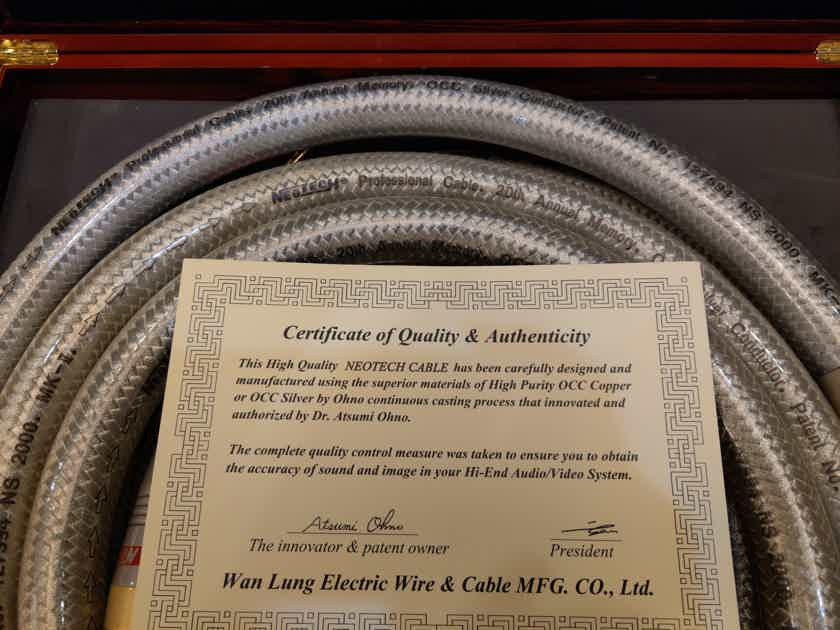 Neotech OCC Silver Speaker Cable - NS2000 MKII
