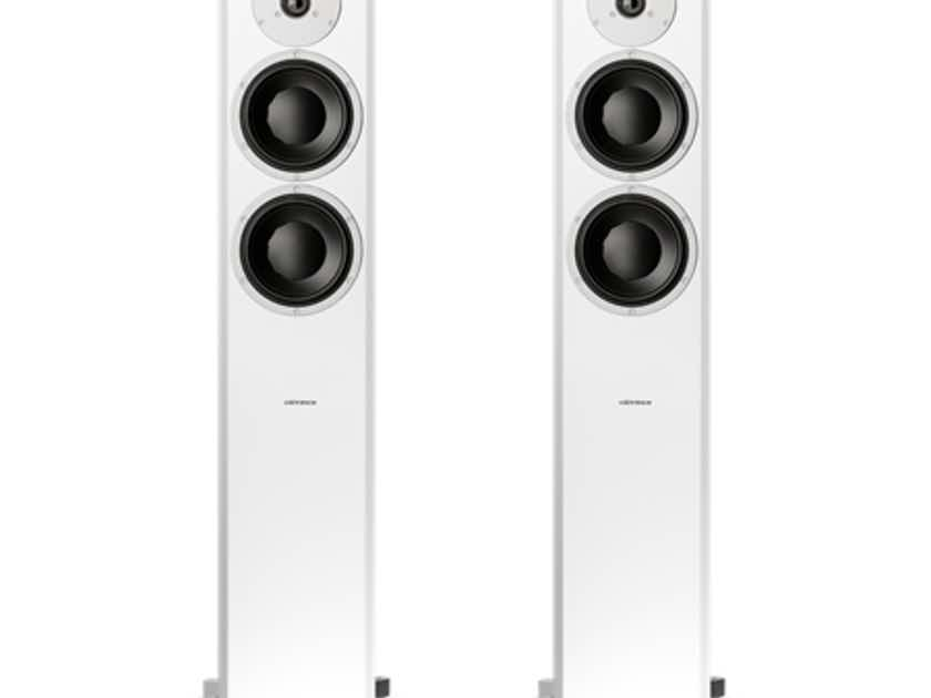 Dynaudio  Focus 400XD Wireless Speakers Satin White w/ Connect (NEW) (10495)