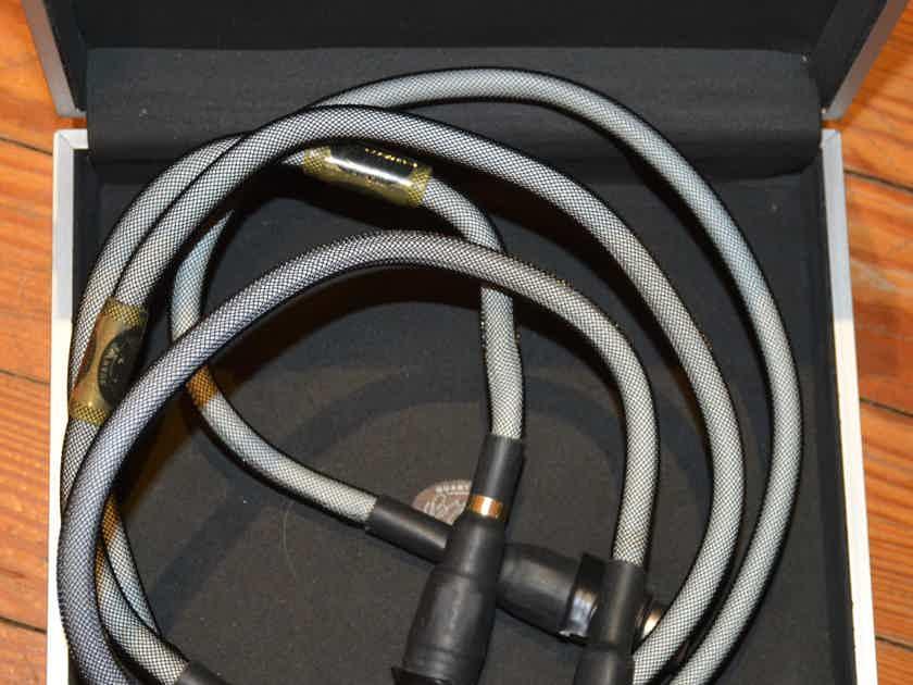 Bybee Technologies Golden Goddess 1 meter balanced interconnect (XLR)