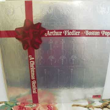 ARTHUR FIEDLER/BOSTON POPS A CHRISTMAS FESTIVAL