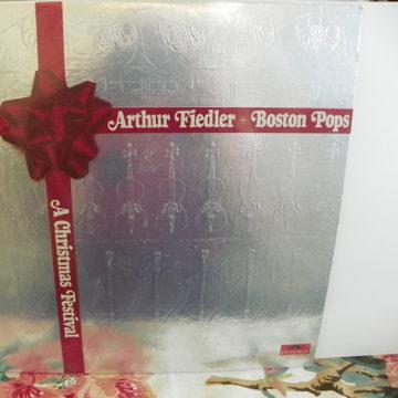 ARTHUR FIEDLER/BOSTON POPS A CHRISTMAS FESTIVAL