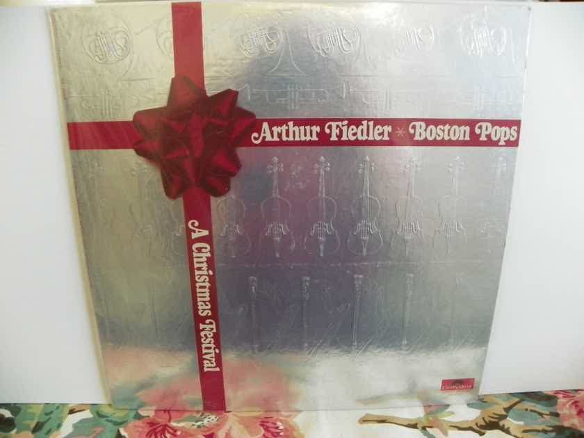 ARTHUR FIEDLER/BOSTON POPS - A CHRISTMAS FESTIVAL Pressing is NM