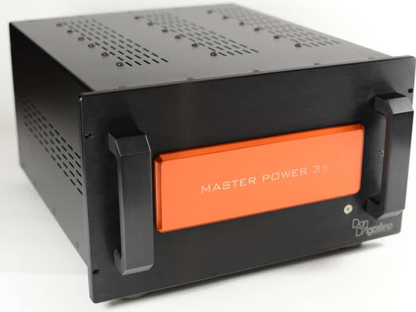 Dan D'Agostino  Master Power 3+ Amplifier Trickle down Momentum Technology
