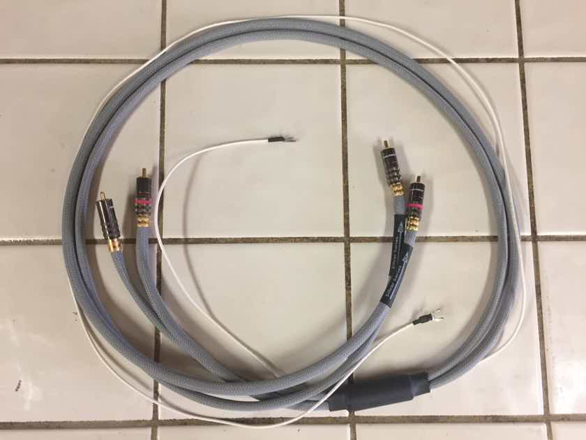 WyWires, LLC Silver Series Interconnect RCA to RCA Phono with Grounding
