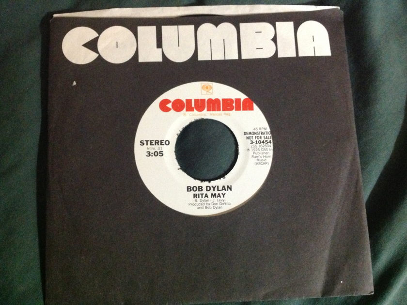 Bob Dylan - Stuck Inside Of Mobile With The Memphis Blues  Rita May Promo 45 NM