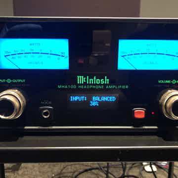 McIntosh MHA-100 2 Channel Speaker Amplifier & Headphon...