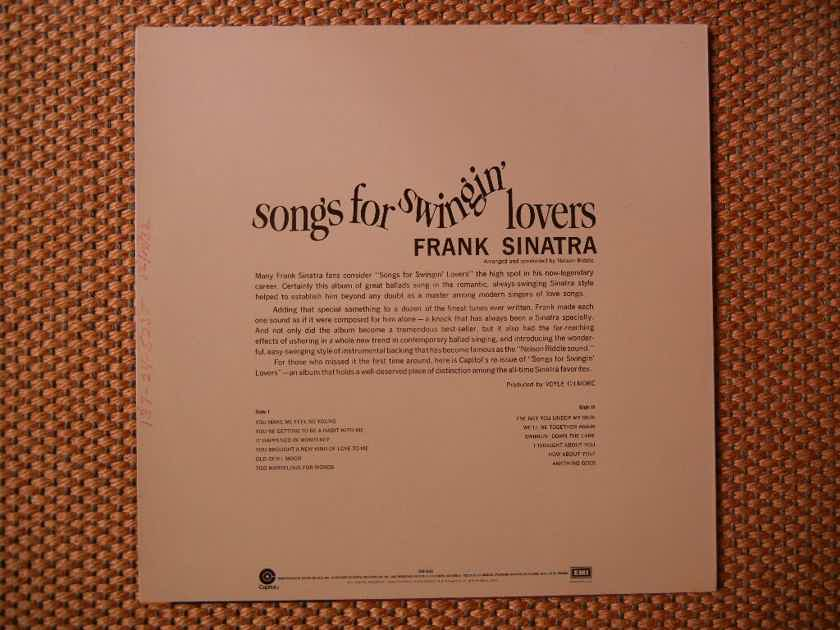Frank Sinatra - Songs for Swingin Lovers Capitol SM-653