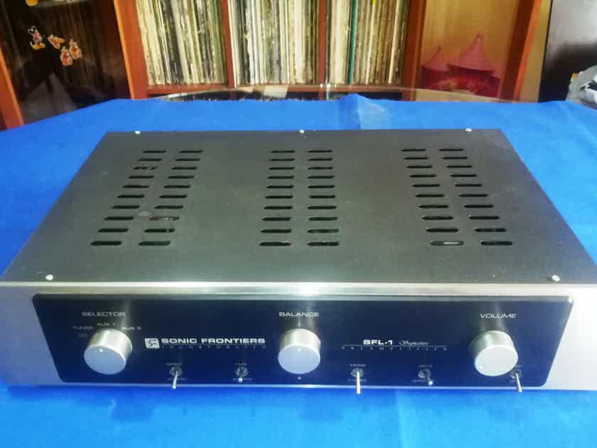 Sonic Frontiers SFL-1 SIGNATURE Tube Line Preamplifier Updated, Works Perfect