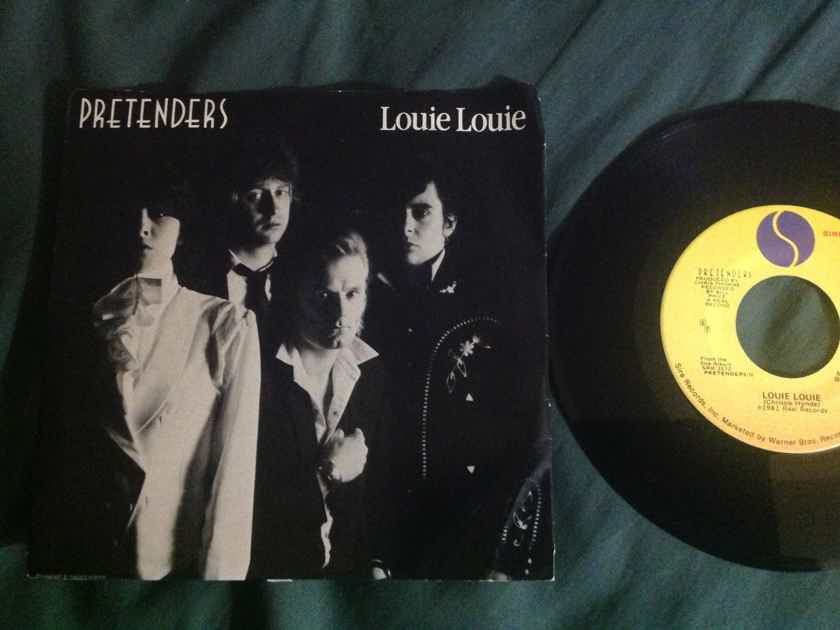 Pretenders - Louie Louie/In The Sticks Sire Records 45 Single With Picture Sleeve Vinyl NM