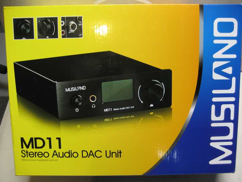 Musiland MD-11 DAC / Headphone Amp