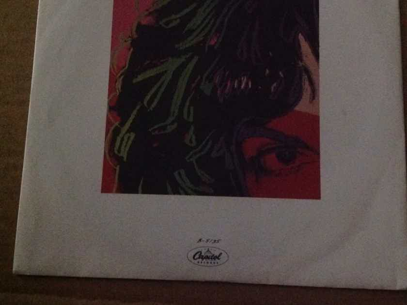 Billy Squier - Emotions In Motion/Catch 22 Andy Warhol Cover Art Picture Sleeve  Capitol Records 45 NM