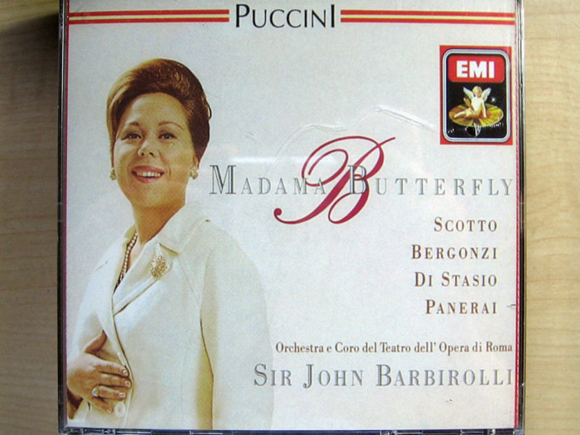 Puccini  - Madama Butterfly - John Barbirol Factory Sealed New Double CD EMI / BMG D 2148658